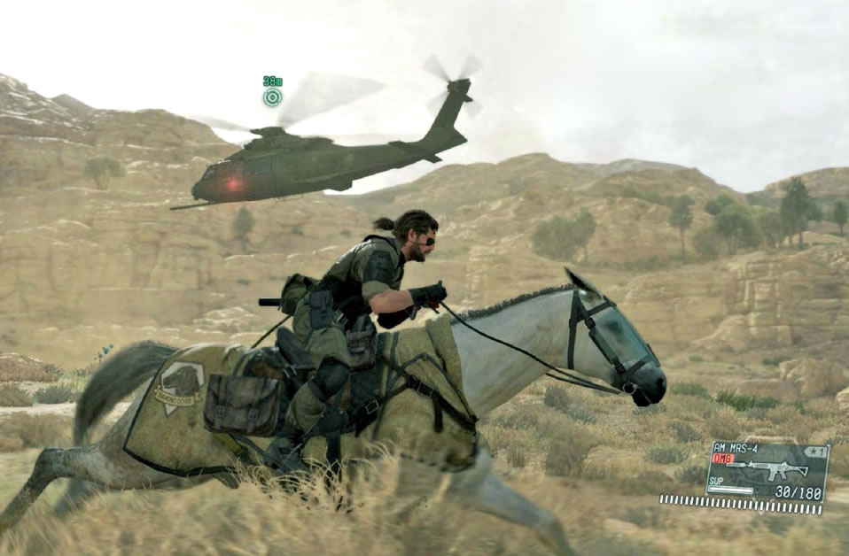 Image result for D-horse Metal gear