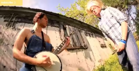 Banjo Raining blood rob scallon
