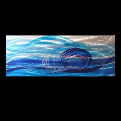 Wall Art large Blue Design