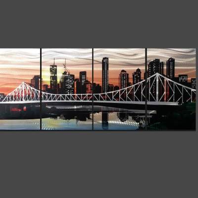 Brisbane City Story Bridge Art