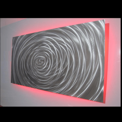 metal wall art LED LIGHTS