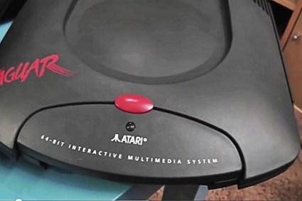 Atari Jaguar console & Games