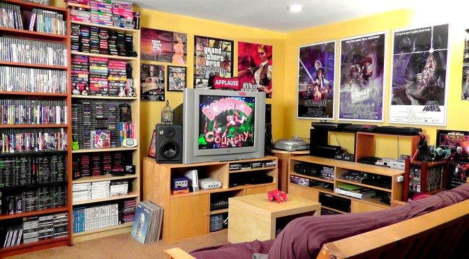 Game Room Tour – 2,300 Games