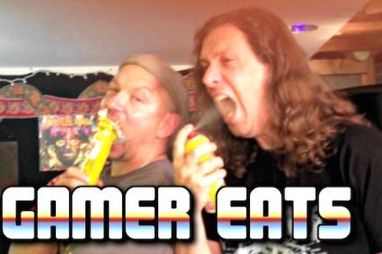 Gamer Eats Waffle Iron Madness