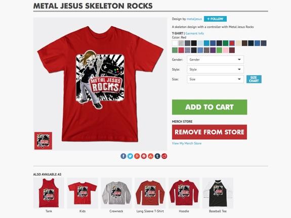 T-Shirt MJR