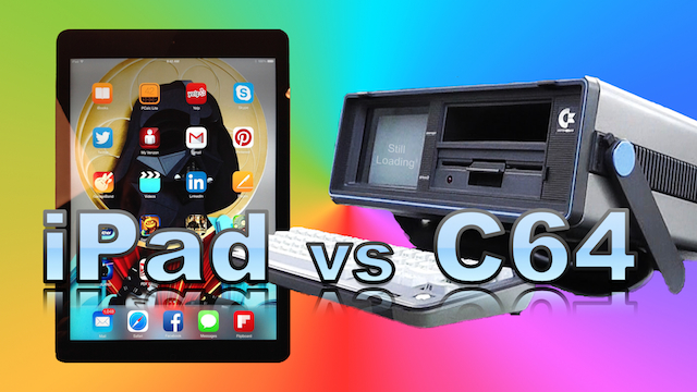 iPad vs C64 Portable – Which Should You Buy?