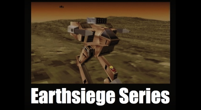 Earthsiege Series – Robot Destruction