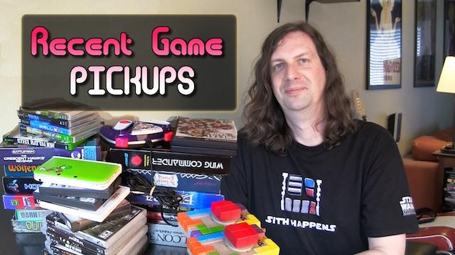 Game Pickups – 30+ Games & Music Vinyl