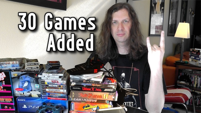 Game Pickups – Over 30 Games + 99Gamers