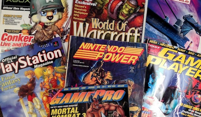 Retro Gaming Magazines Highlights