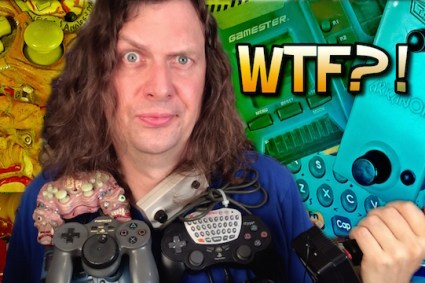 Weird Game Controllers Thumbnail