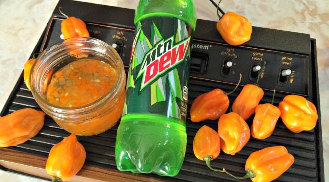 GAMER EATS – Mountain Dew Pepper Jam