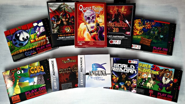 NEW GAMES for OLD Consoles – SNES / NES / Genesis / GBA