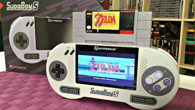 A Portable SNES - SupaBoy S Review: Is it New & Improved?!