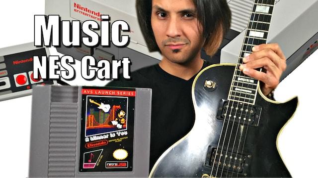 World's First NES MUSIC Cartridge - Real Digital Audio & Not 8Bit!!