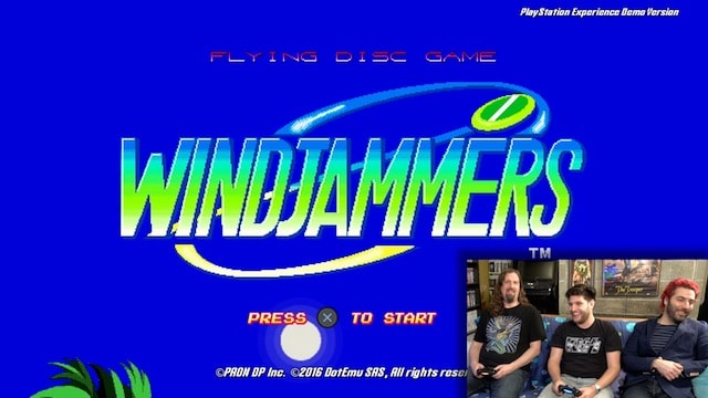 Let's Play WINDJAMMERS: Arcade Classic coming to PS4 / PS VITA