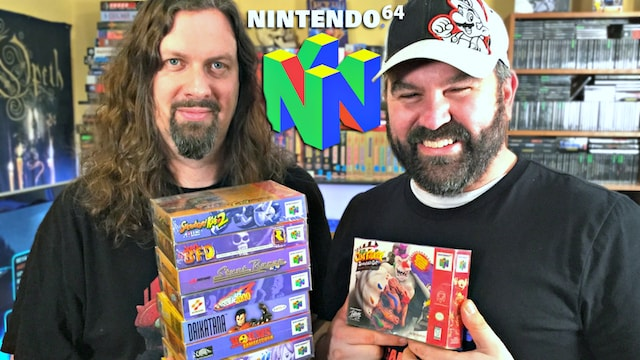 Stupidly EXPENSIVE & Rare N64 Games – COMPLETE in BOX!