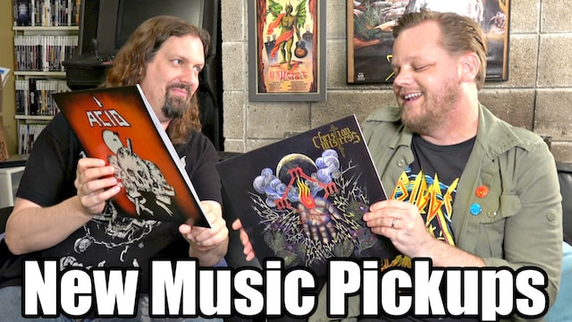 New MUSIC Pickups – 27 Vinyl Records w/ Metal Jesus & Troy Nelson
