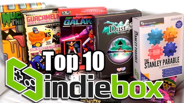 TOP 10 IndieBox Games – Unboxing Collector's Editions!!