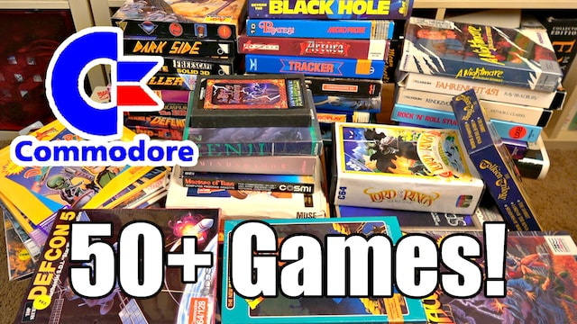 Crazy Seattle Craigslist find: 50+ C64 Games – Craigslist isn't dead!