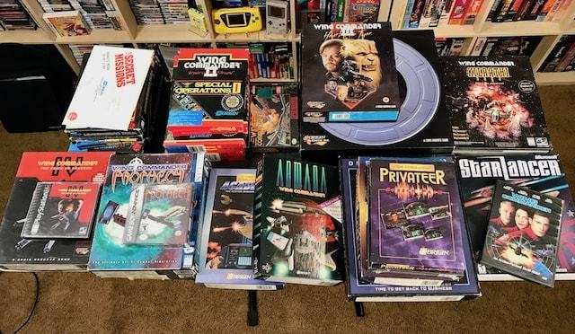 WING COMMANDER Series – All the Games in BOX