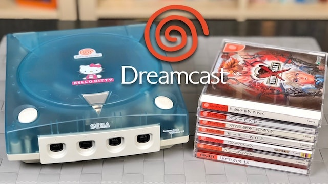 HELLO KITTY DREAMCAST & Japanese Import Games