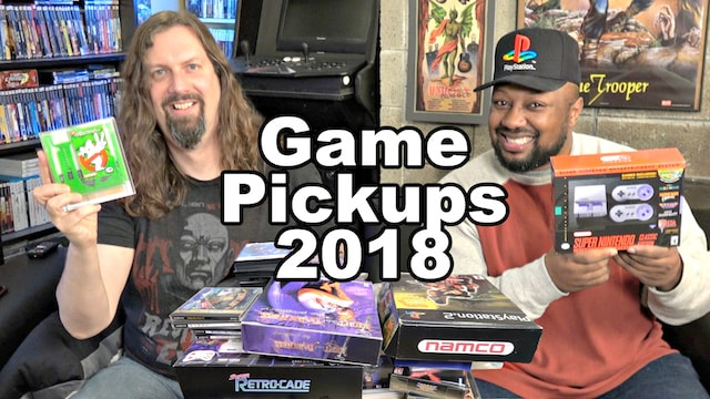 NEW GAME Pickups for 2018 – 47 Games from Reggie & Metal Jesus