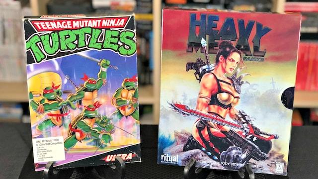 1999 Interview with Kevin Eastman (Teenage Mutant Ninja Turtles) & Ritual Ent (Heavy Metal / SiN)