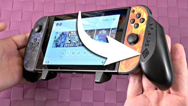 Nintendo Switch Pro Gaming Grip REVIEW – from Satisfye