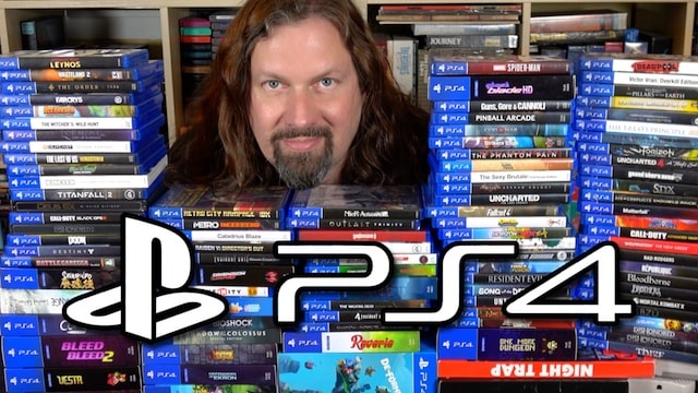 My PS4 Collection So far… 100+ Physical Games!