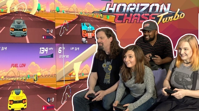 Metal Jesus Crew Split-Screen Tournament – Horizon Chase Turbo
