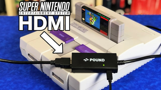 *NEW* SNES HDMI Cable 100% Plug & Play – REVIEW w/ Gameplay
