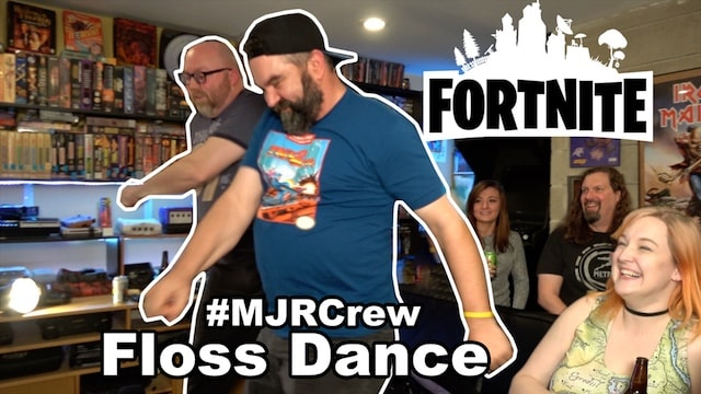 MJR Crew attempt the FORTNITE FLOSS Dance (badly) & Kelsey fails College Classes cuz of League of Legends