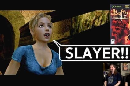 Let's Play Buffy the Vampire Slayer – XBOX w/ Drunken Master Paul