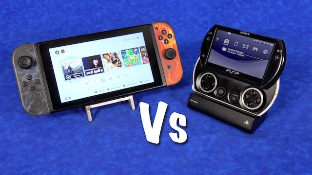 Nintendo SWITCH vs PSP Go – Sony did it 8 years earlier?!?