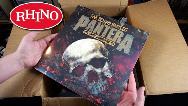 Rhino Records Unboxing – 10 Albums + Stickers + Shirt & MORE!