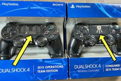 Unboxing RARE PS4 employee controllers found in Canada!