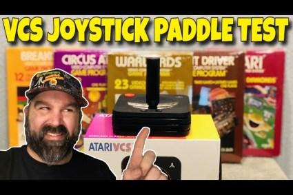 Atari VCS Classic Joystick Paddle Test: Does It Work?