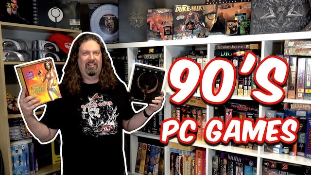 Celebrating 1990s PC GAMES – My Collection (Part 1)
