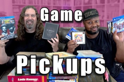 25 More GAME PICKUPS w/ Reggie (PS4/Switch/PS5/Xbox/GBA/PC)