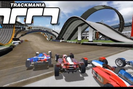 TrackMania (Wii) Review & Gameplay