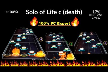 HEROES OF WAR – SOLO OF LIFE C (death) TO OUTRO Tech FC! (2 segments! 100%, Expert)