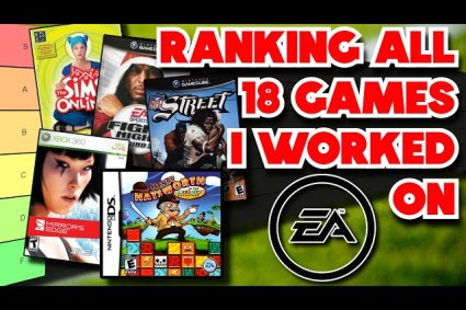 Ranking Every Game I Worked On at Electronic Arts