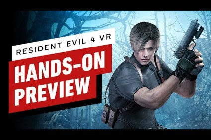 Resident Evil 4 VR Hands-On Preview