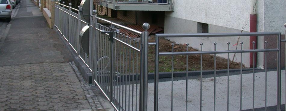 gartenzaun edelstahl trier wittlich luxemburg. Black Bedroom Furniture Sets. Home Design Ideas