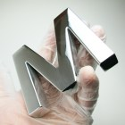 letter-m-solid-aluminium-polished