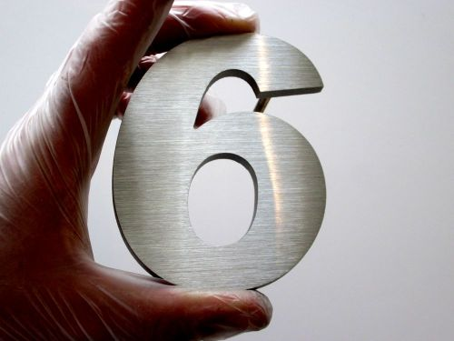 6mmthick-stainless-steel-number-6