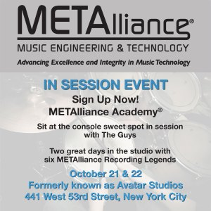 METAlliance Academy In Session Following AES in NYC