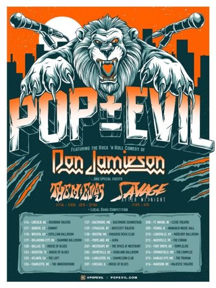 Pop Evil 25