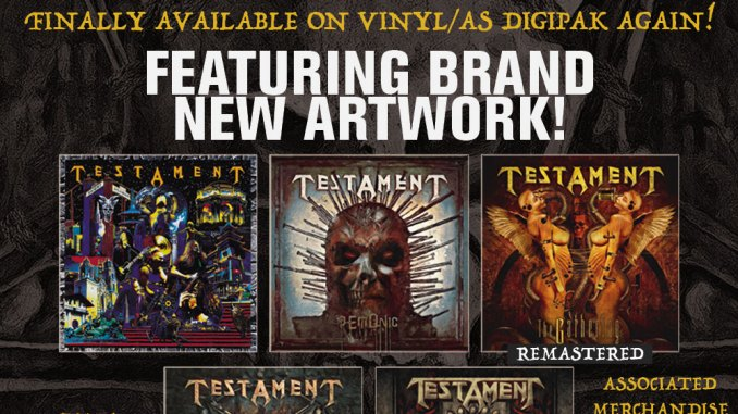 Testament to Re-issue classic albums via Nuclear Blast